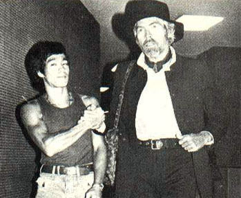 Bruce Lee et James Coburn