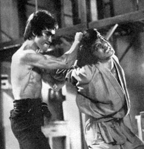 Bruce Lee et Jackie Chan