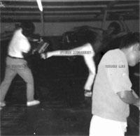 Dan Inosanto, Steve McQueen et Bruce Lee