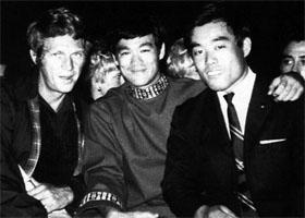 Steve McQueen, Bruce Lee et Fumio Demura