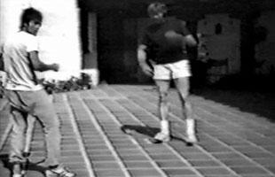 Vidéo de Bruce Lee et James Coburn