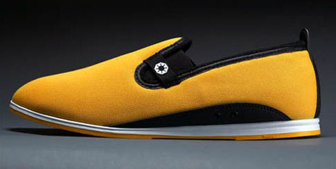 Yellow Mesh - Bagua shoes