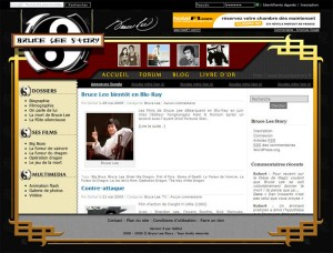 """Bruce Lee Story """"light"""""""
