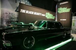 The Black Beauty from The Green Hornet (Le Frelon Vert)