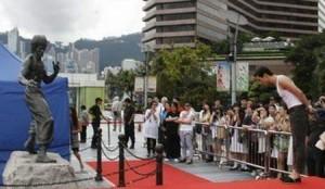 Conférence de presse à Hongkong