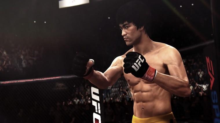 Bruce Lee, combattant d'EA Sports UFC